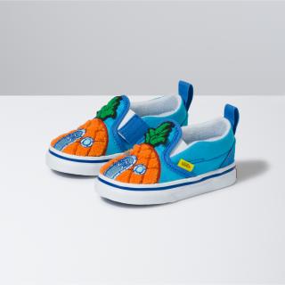 Toddler Vans X Spongebob Slip-On Velcro Shoes (1-4 years)