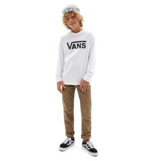 Boys Vans Classic Long Sleeve T-Shirt (8-14+ years)