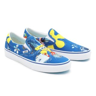 Vans X Spongebob Classic Slip-On Shoes