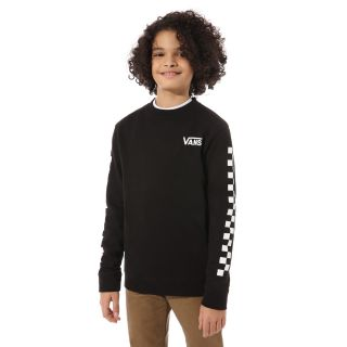 Boys Exposition Check Crew Pullover (8-14+ years)