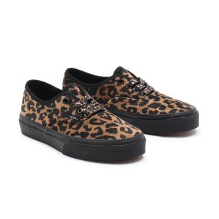 YOUTH LEOPARD FUR AUTHENTIC SHOES (8-14 YEARS)