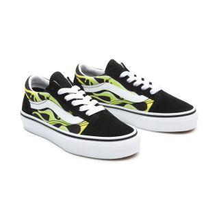 Kids Slime Flame Old Skool Shoes (4-8 years)