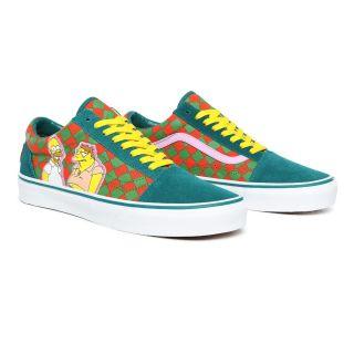 Vans X The Simpsons Moe's Old Skool Shoes