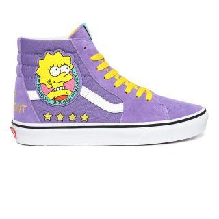 Vans X The Simpsons Liza 4 Prez Sk8-Hi Shoes