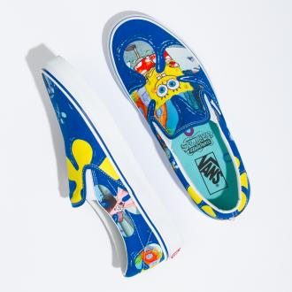 Vans X Spongebob Classic Slip-On Shoes Hover