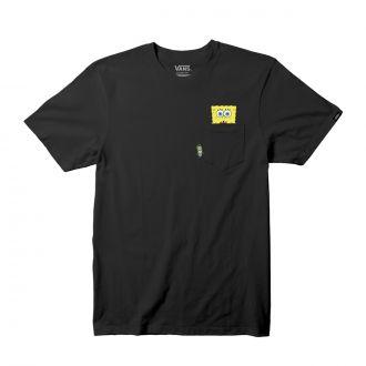 Little Kids Vans X Spongebob  Spotlight Pocket T-Shirt (2-8 years)