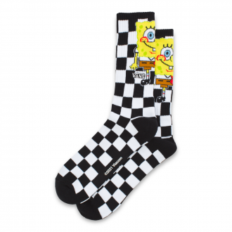Vans X Spongebob Crew Socks 9.5-13 (42.5-47,1 pair) Hover