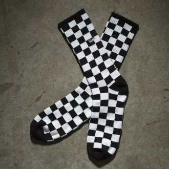 CHECKERBOARD II CREW SOCKS (38.5-42 , 1 PAIR PK) Hover