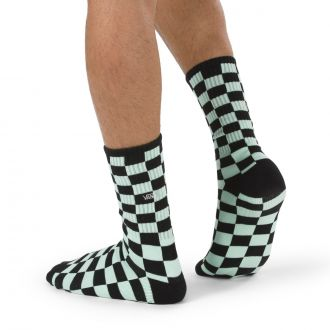 Checkerboard Crew Socks(38.5-42, 1PK)