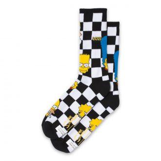 Vans X The Simpsons Crew Socks (38.5-42 ,1P)