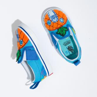 Toddler Vans X Spongebob Slip-On Velcro Shoes (1-4 years) Hover