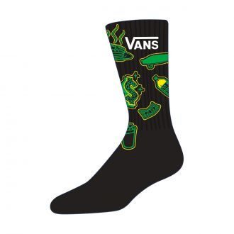 Vans X Shake Junt Crew Socks (38.5-42)