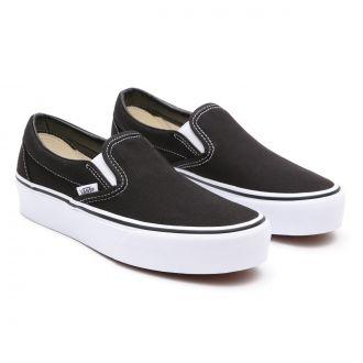 Classic Slip-On Platform Shoes