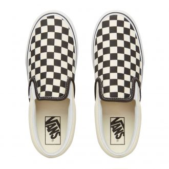 Checkerboard Classic Slip-On Platform Shoes Hover