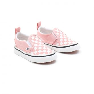 TODDLER CHECKERBOARD SLIP-ON VELCRO SHOES (1-4 YEARS)