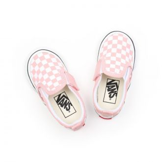 TODDLER CHECKERBOARD SLIP-ON VELCRO SHOES (1-4 YEARS) Hover