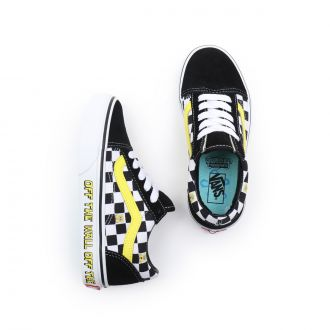 Kids Vans X Spongebob Old Skool Shoes (4-8 years) Hover