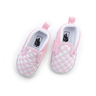 Infant Checkerboard Slip-On V Crib Shoes (0-1 year) Hover
