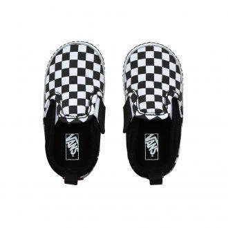 Infant Checker Slip-On V Crib Shoes (0-1 year) Hover