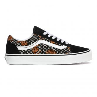 Tiger Floral Old Skool Shoes