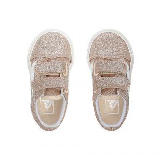 Toddler Glitter Old Skool V Shoes (1-4 years) Hover
