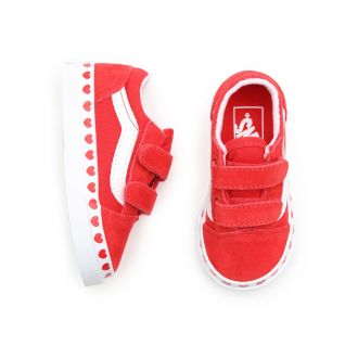 Toddler Heart Foxing Old Skool V Shoes (1-4 years) Hover
