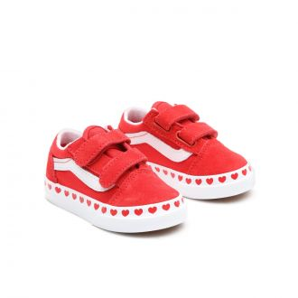 Toddler Heart Foxing Old Skool V Shoes (1-4 years)