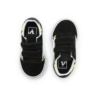 Toddler Slime Flame Old Skool V Shoes (1-4 years) Hover