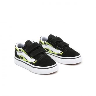 Toddler Slime Flame Old Skool V Shoes (1-4 years)