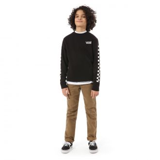 Boys Exposition Check Crew Pullover (8-14+ years) Hover