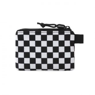 MN VANS POUCH WALLET Black/White Che Hover