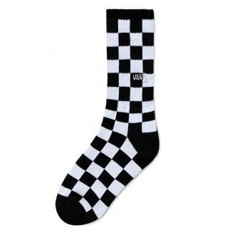 Kids Checkerboard Crew Socks (1 pair,31.5-38)