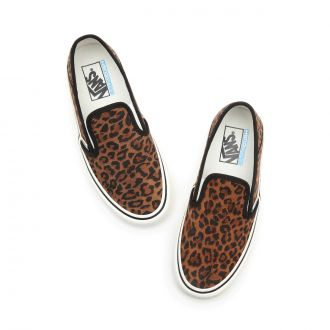 Suede Leopard Slip-On SF Shoes Hover