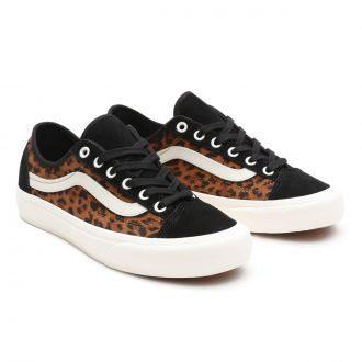 Suede Leopard Style 36 Decon SF Shoes