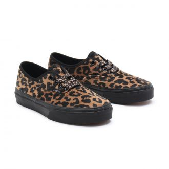 KIDS LEOPARD FUR AUTHENTIC SHOES (4-8 YEARS) Hover