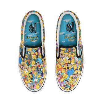 Vans X The Simpsons Comfycush Slip-On
