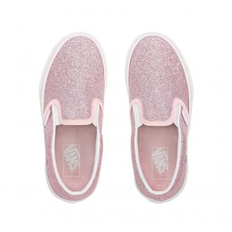 Kids Glitter Classic Slip-On Shoes (4-8 years) Hover