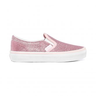 Kids Glitter Classic Slip-On Shoes (4-8 years)