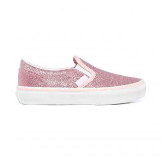 Kids Glitter Classic Slip-On Shoes (4-8 years)