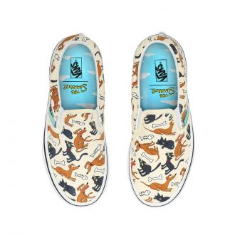 Kids Vans X The Simpsons Family Pets Classic Slip-On Shoes (4-8 years) Hover