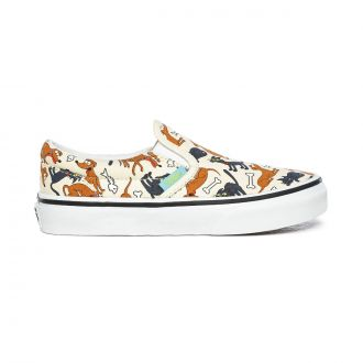 Kids Vans X The Simpsons Family Pets Classic Slip-On Shoes (4-8 years)