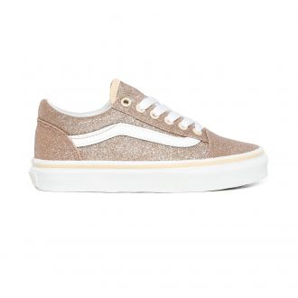 Kids Glitter Old Skool Shoes (4-8 years)