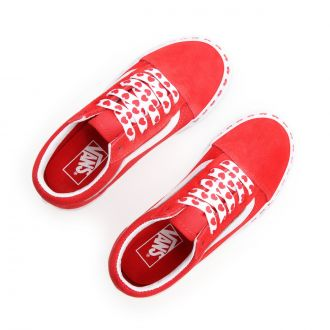 Kids Heart Foxing Old Skool Shoes (4-8 years) Hover
