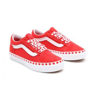 Kids Heart Foxing Old Skool Shoes (4-8 years)