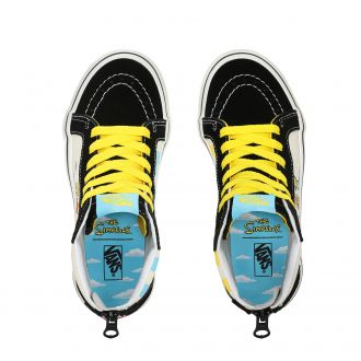 Youth Vans X The Simpson SK8-Hi Zip  Hover