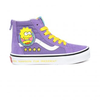 Youth Vans X The Simpson SK8-Hi Zip