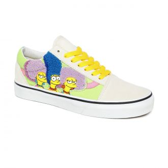 Vans X The Simpsons The Bouviers Old Skool Shoes
