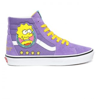 Vans X The Simpsons Liza 4 Prez Sk8-Hi Shoes