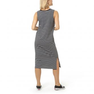 Mini Check Midi Dress Hover