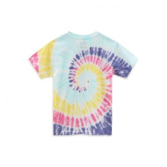LITTLE KIDS TIE DYE EASY BOX T-SHIRT (2-8 YEARS) Hover